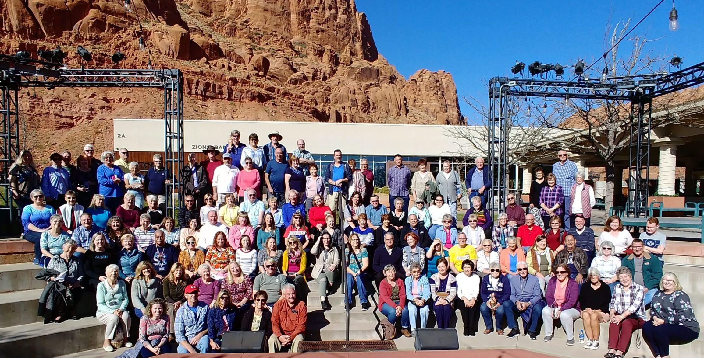 2019 Volunteers group photo