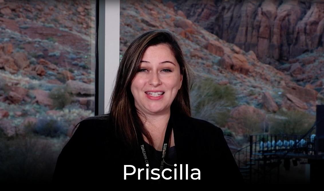Priscilla's orientation video link
