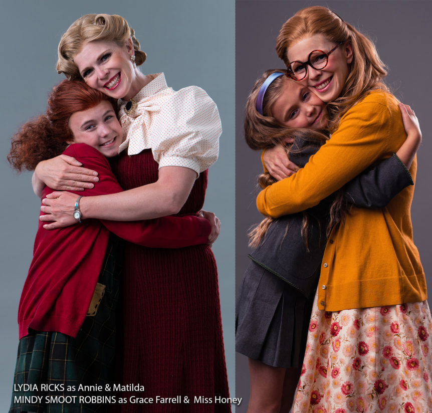 Lydia Ricks and Mindy Robbins