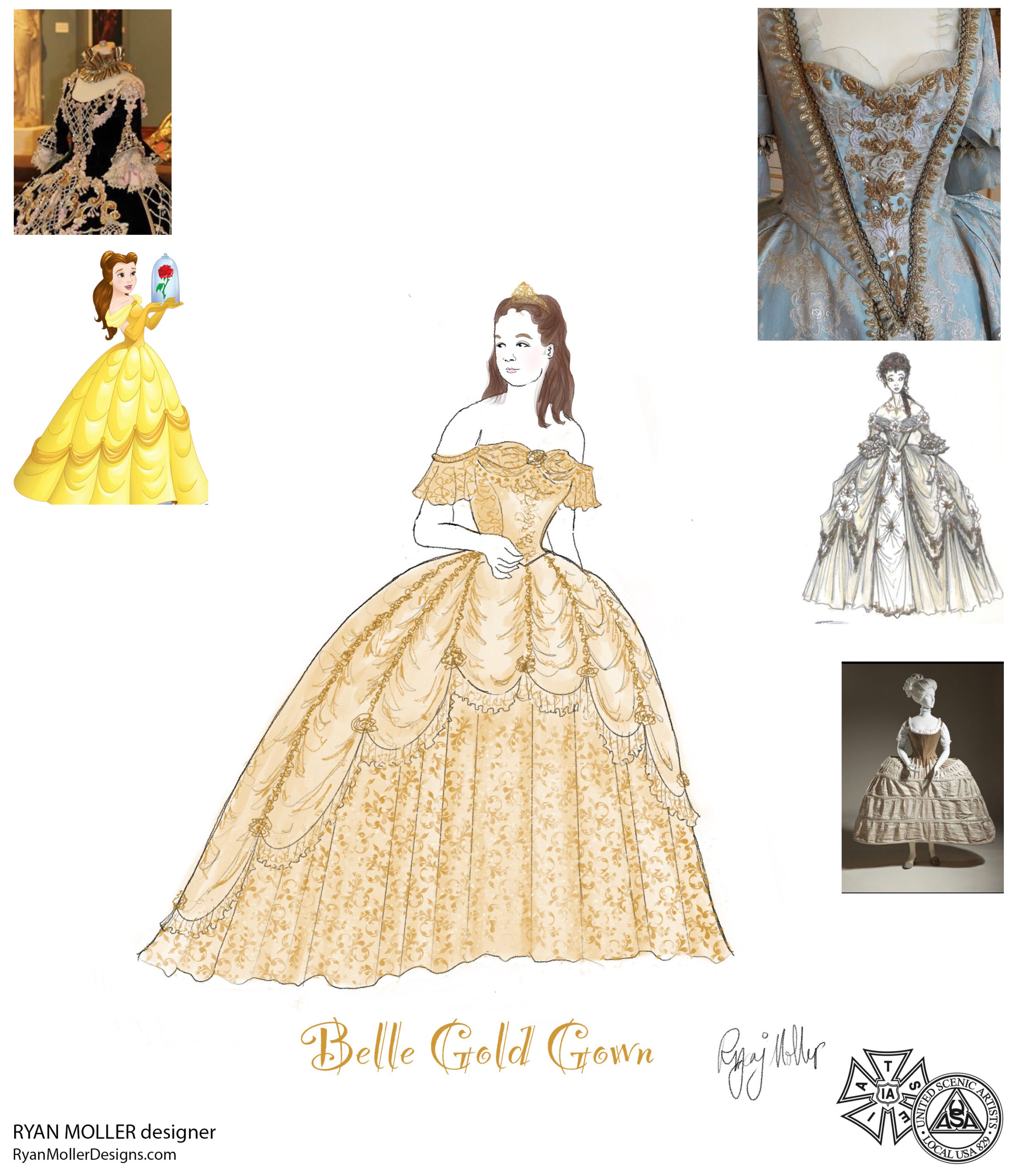 Belle's dress concept