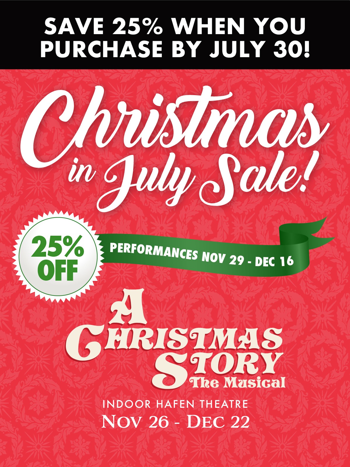 Christmas in July sale 2021