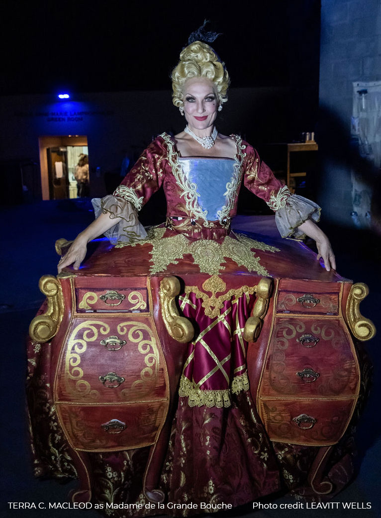 Madame de la Grande Bouche from Beauty and the Beast