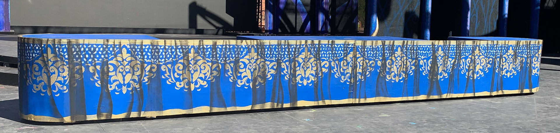 Dining table from the Beauty and the Beast