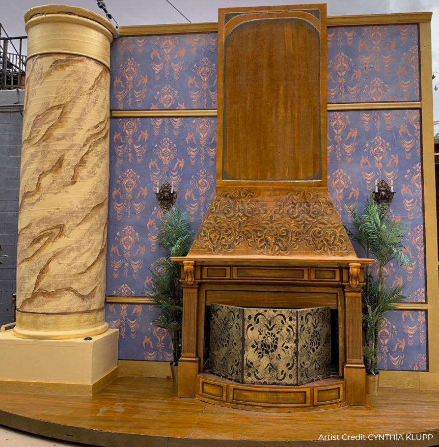 Fireplace set from Annie