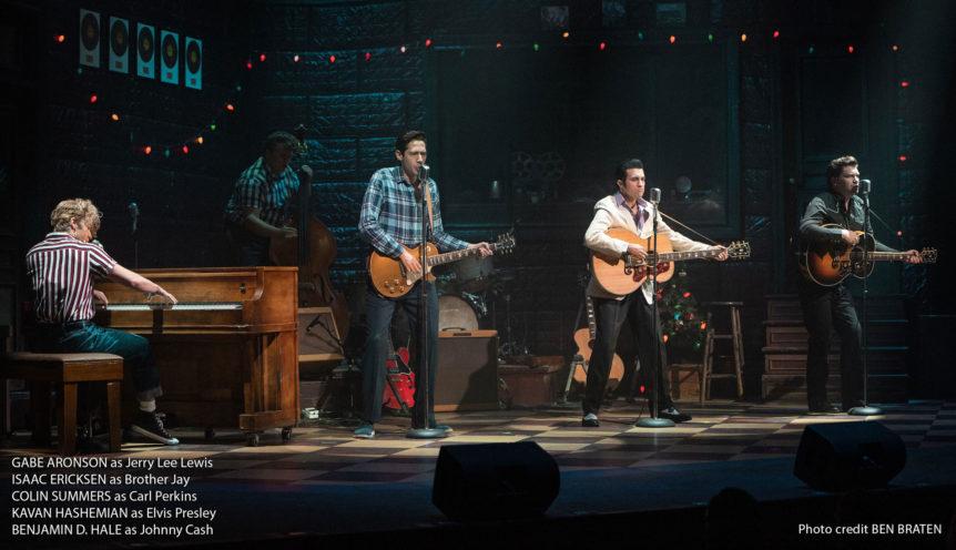 The Million Dollar Quartet in the Hafen Theatre