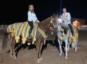 Horses play a big part in Tuacahn's productions.